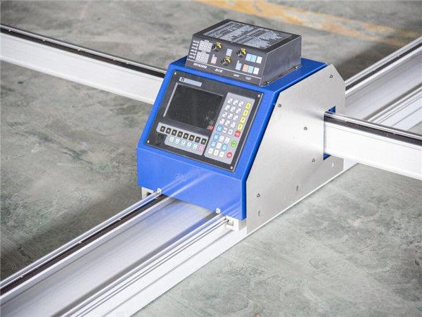 1300x2500mm CNC เครื่องตัดพลาสม่าโลหะที่มีต้นทุนต่ำใช้ cnc เครื่องตัดพลาสม่า