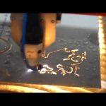1325 สแตนเลสแบบพกพาพลาสม่า cnc เครื่องตัด