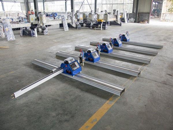 23 เมตรแบบพกพาจีนทำขนาดเล็กราคาถูกต้นทุนต่ำ cnc เครื่องตัดพลาสม่า