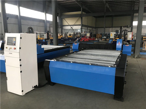 เครื่องเจาะพลาสม่าตัดแผ่นโลหะขนาดใหญ่ 20006000mm CNC