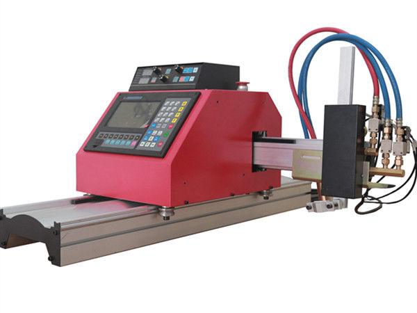 มัลติฟังก์ชั่สแควร์ท่อเหล็กโพรไฟล์ CNC FlamePlasma เครื่องตัดที่มีคุณภาพสูง