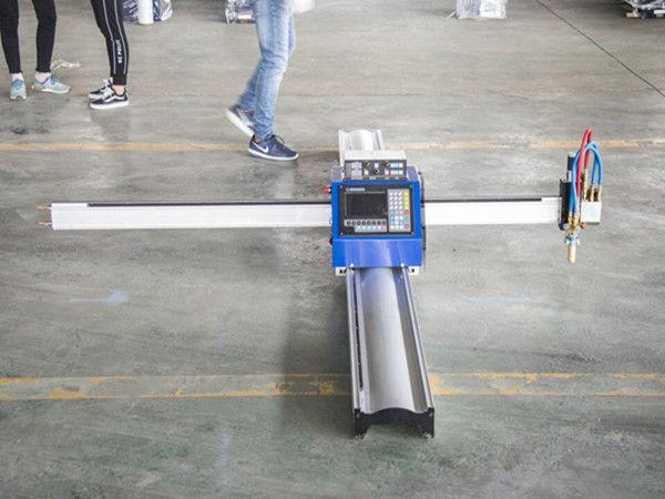 เทคโนโลยีใหม่ไมโครเริ่มต้น CNC เครื่องตัดโลหะ / แบบพกพา cnc เครื่องตัดพลาสม่า