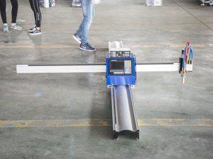 เทคโนโลยีใหม่แบบพกพาประเภท cnc ราคาพลาสม่าเครื่องตัดธุรกิจขนาดเล็กเครื่องผลิต