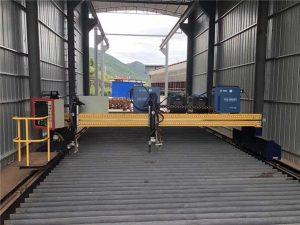เครื่องตัดพลาสม่าซีเอ็นซีที่มีความแม่นยำขนาด 13000 มม. พร้อม Servo Motor