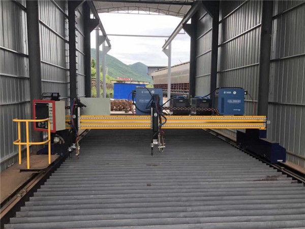 เครื่องตัดพลาสม่าซีเอ็นซีขนาดแผ่นเหล็ก 1500x3000mm