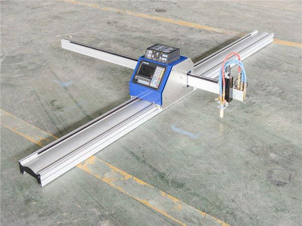 เหล็กตัดโลหะต้นทุนต่ำ cnc เครื่องตัดพลาสม่า 1530 IN จี่ส่งออกทั่วโลก CNC