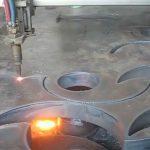 เปลวไฟพลาสม่า cnc แบบพกพาเครื่องตัดพลาสม่าเครื่องอนุมัติในประเทศจีนโรงงาน