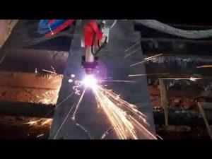 ค่าใช้จ่ายต่ำ cnc เครื่องตัดพลาสม่าเหล็กเครื่องตัดเหล็กเครื่องตัดวงกลม