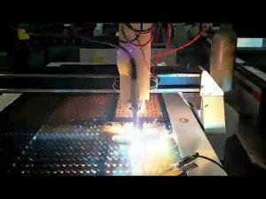 ต้นทุนต่ำเครื่องตัดพลาสม่าแผ่นเหล็ก cnc เครื่องตัดพลาสม่าขนาดเล็ก